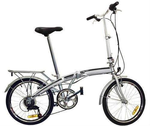 Best Choice Products Shimano 6 Speed Bike Fold Storage Folding Bike