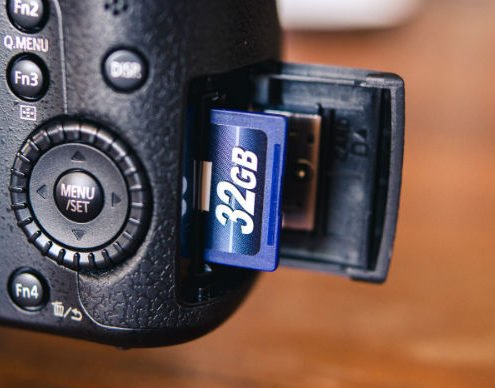 Best SD memory card for DSLR 4K video recording