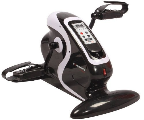 Confidence Fitness Electric Mini Exercise Bike Pedal Exerciser