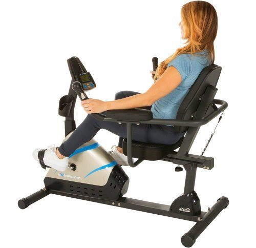 Exerpeutic 2000 Programmable Magnetic Recumbent Bike