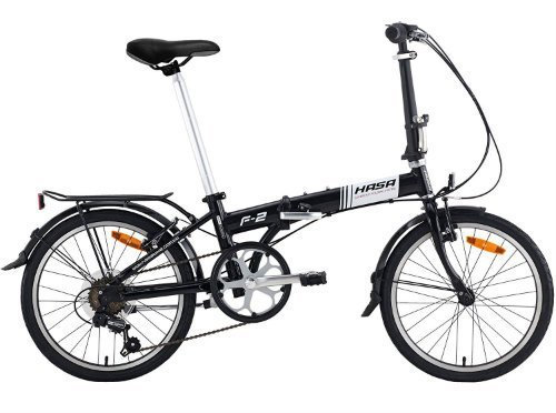 Hasa Folding Foldable Bike Sram 6 Speed review