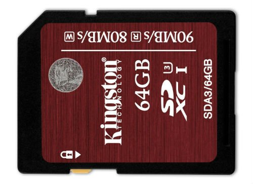 Kingston Digital 64GB sd memory card