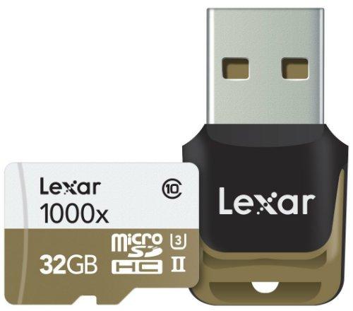 Lexar Professional 1000x microSDHC 32GB UHS 2