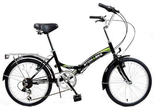 Stowabike 20 Folding City V2 Compact Foldable Bike 6 Speed Shimano Gears