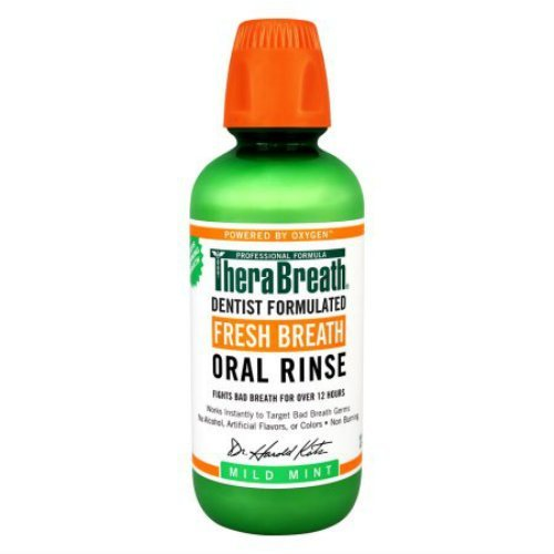 TheraBreath Dentist Formulated Fresh Breath Oral Rinse