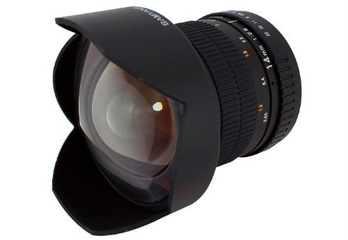 Ultra Wide Fixed Angle Lens for Canon