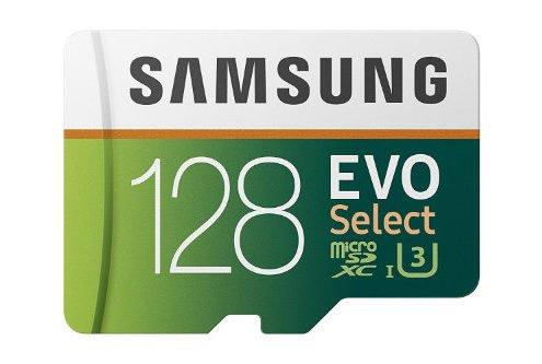 top class microsd card 128 gb samsung evo 2017