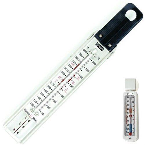 CDN TCG400 Professional Deep Fry Thermometer