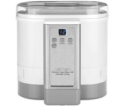 Cuisinart Yogurt Maker with Automatic Cooling reviews pros cons