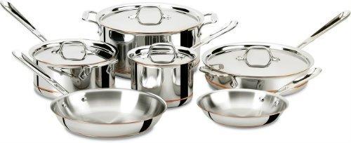 Dishwasher Safe Cookware Set for induction cooktop countertop burner hob