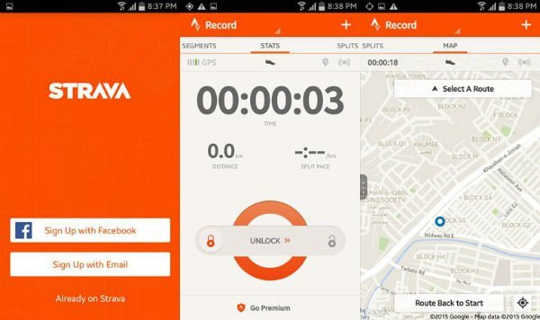 Best free android cycling app for cyclists strava