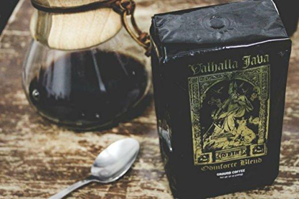 Best ground coffee on Amazon Valhalla Java Odinforce Blend