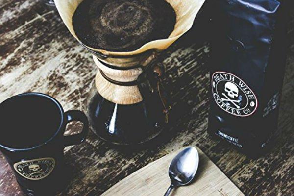 Death Wish Ground Coffee best American ground coffee brand