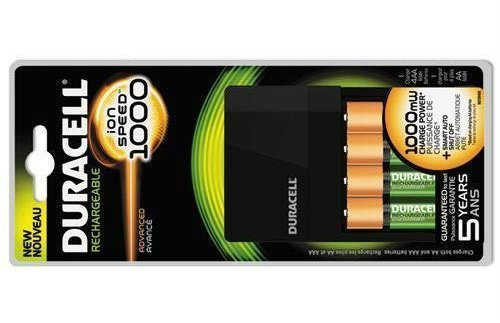 Duracell Fastest Value Charger with 4 AA Batteries
