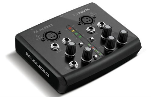M Audio Two Channel Portable USB Audio and MIDI Interface