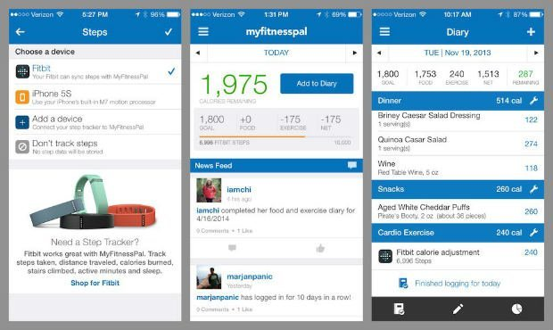 MyFitnessPal Android free fitness app