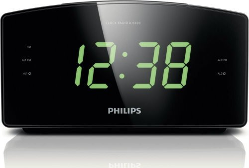 Philips Clock Radio top rated digital alarm clock