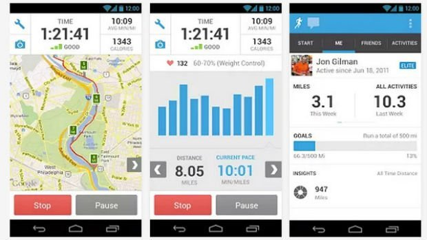 RunKeeper Android app free