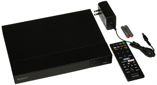 SONY BDP-S6700 Multi System Region Free Blu Ray Disc DVD Player