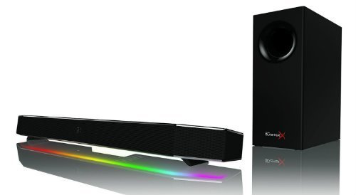 Sound BlasterX Katana Multi Channel Surround Gaming and Entertainment Soundbar