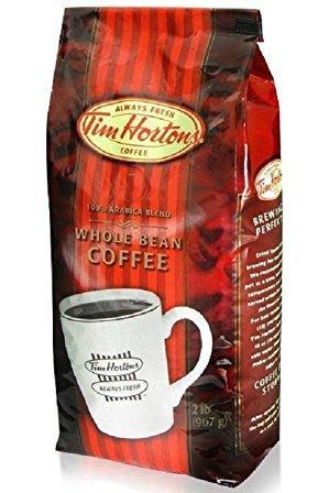 Tim Horton Arabica Medium Roast Whole Bean Coffee