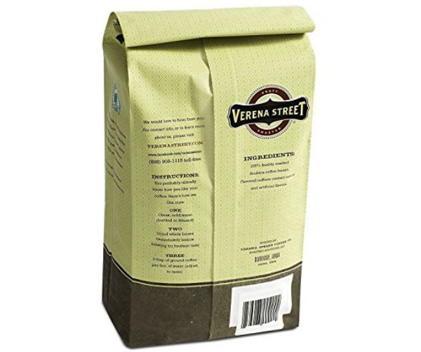 best ground coffee brands reviews Verena Street 2 Pound Flavored Whole Bean Coffee