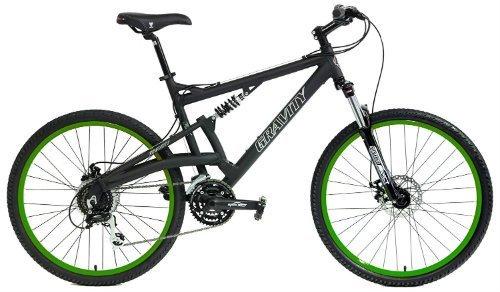 2018 Gravity FSX 2 0 Dual Full Suspension Mountain Bike review