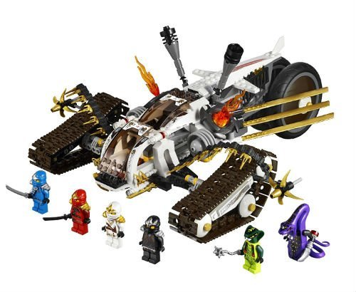 Best LEGO Ninjago Movie Sets - Dissection Table