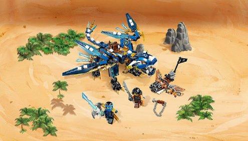 LEGO Ninjago Jays Elemental Dragon building set
