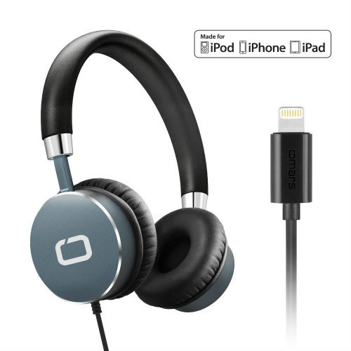Lightning Connector On ear Wired Headset for Apple iOS iPhone 8 x iPad iPod