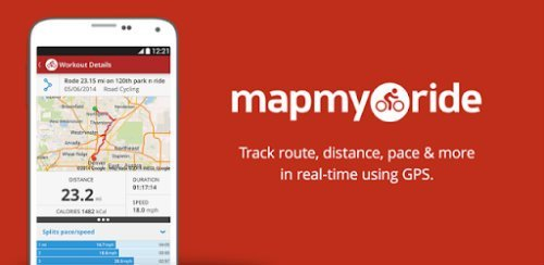 Map My Ride GPS Cycling Riding gps cycling apps Android