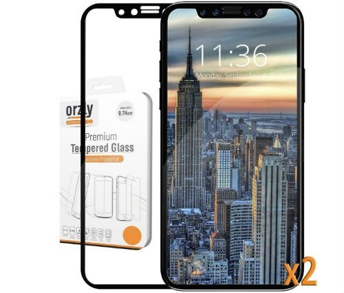 Orzly iphone 10 x screen protection