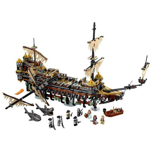 Pirates of the Caribbean Silent Mary 71042 Building Kit Ship
