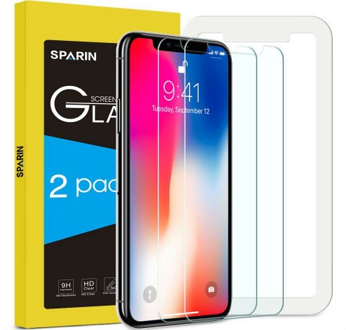 SPARIN iPhone X Screen Protector iPhone 10