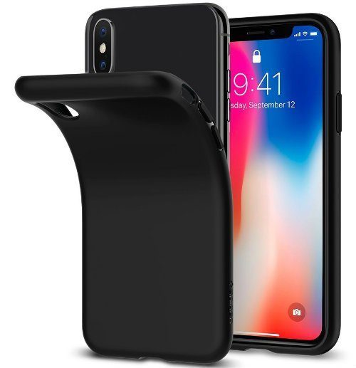 Spigen Liquid Crystal iPhone X Case