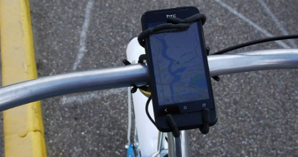 Tips for using a smartphone like GPS Bike