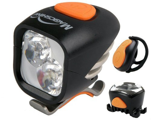 best front and rear LED bicycle lights for night riding and mountain biking