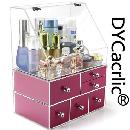 Extra Large Acrylic bathroom organizer amazon