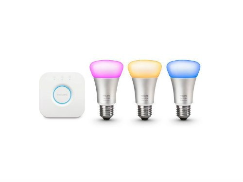 Philips Hue White and Color Ambiance Smart Bulb Starter Kit