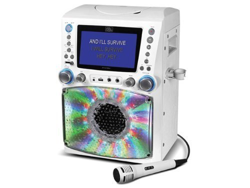 Singing Machine STVG785W Karaoke Machine with Disco Lights review