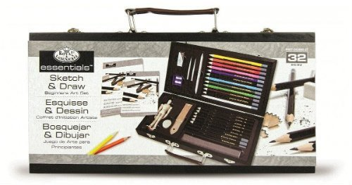 Sketch and drawing set for artist