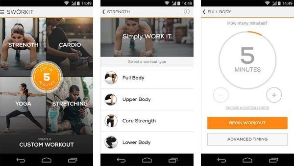 Best free fitness apps for Android smartphone tablet