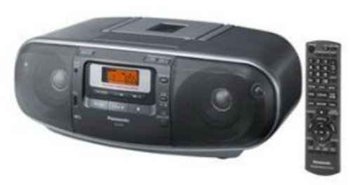 High Power Portable Stereo AM FM Radio MP3 CD Tape Recorder USB Music Port High Quality Sound