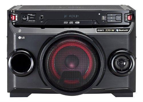 LG LOUDR OM4560 220W BT CD mini table top boom box