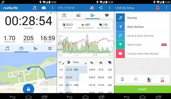 Runtastic Top free Android app for fitness to stay fit