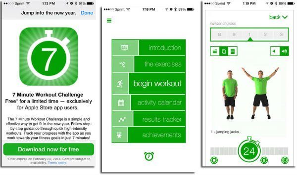 best workout apps for android free