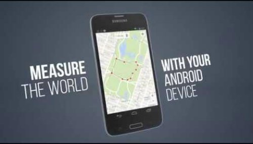 Best Android app to measure distance between 2 points