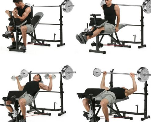 Best Bodybuilding Adjustable Bench for Workout