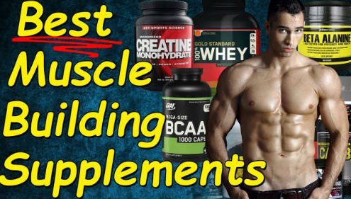 Top 10 best bodybuilding supplements for muscle growth without side effects