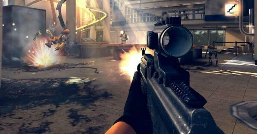 best free first person shooter games for ipad